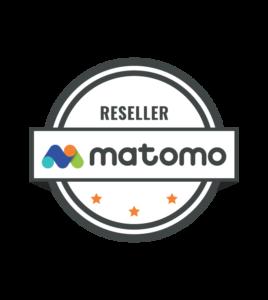 Matomo Certified Reseller logo - MIST Analytics